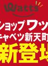 """100円ショップ""""ワッツ""""がオープンしました!"""