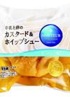牛乳と卵のカスタード&ホイップシュー 66円(税抜)