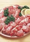 備中の健農鶏モモ唐揚用 148円(税抜)