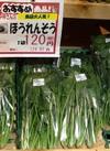ほうれん草 120円(税抜)