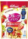 フルーツグラノーラ朝摘みいちご 399円(税抜)