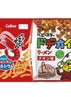 かっぱえびせん、ベビースタードデカイラーメン 58円(税抜)