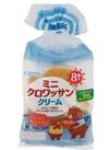 ミニクロワッサン クリーム 108円