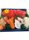 お魚屋さんのおすすめ刺身盛合せ(大) 880円(税抜)