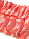 牛ばら肉切落し 580円(税抜)