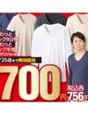 極ふわっとVネック9分袖・極ふわっとVネック半袖 700円(税抜)