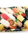 【寿司】おすすめにぎり潮音(活〆はまち・昆布〆金目鯛入り12貫) 650円(税抜)