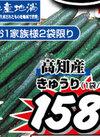 きゅうり 158円(税抜)