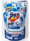 アタックジェル詰替 抗菌EXスーパークリア・高浸透バイオ 158円(税抜)