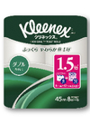 クリネックスコンパクト8ロール(ダブル) 398円(税抜)