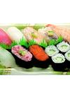 水曜限定生寿司・水曜限定海鮮丼 498円(税抜)