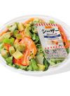 シーザーで食べるサーモンとアボカドサラダ 369円(税抜)