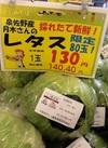 レタス 130円(税抜)