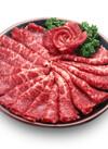 牛肉焼肉用(交雑牛) 498円(税抜)
