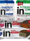 inゼリー/inバープロテイン 108円(税抜)