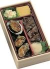 牛ステーキとあわびとかきの鉄板焼弁当 1,371円(税抜)