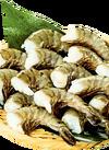 ブラックタイガー大えび(養殖・解凍) 1,080円(税込)