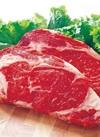 牛肉かたロースステーキ用 198円(税抜)