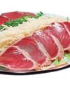 生姜たっぷり盛りかつおたたき〈生食用〉 398円(税抜)