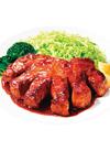国産豚 ロース肉 ステーキカット 128円(税抜)