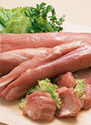 ナチュラルポークひれ肉 ひとくちカツ用 680円(税抜)