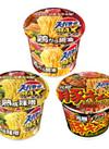 MAXラーメン(鶏ガラ醤油/熟成味噌)/1.5倍ラーメン(豚キムチ) 98円(税抜)