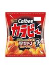 カラビー 厚切りホットチリ味 63円(税抜)