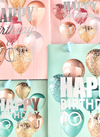 ☆バースデーロゴの入った紙袋とパーティを彩るキャンドル☆ 100円(税抜)