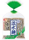流水麺[そば/そうめん/稲庭風細うどん] 158円(税抜)