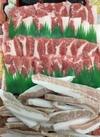 焼肉セット(牛バラ、豚肩ロース、豚トロ) 1,290円(税抜)