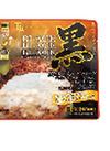 黒と黒と黒のハンバーグ ホワイトマスタード 298円(税抜)