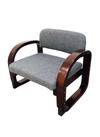 曲げ木らくらく座椅子 HX-3023 グレー 3,980円(税抜)
