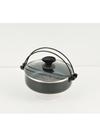 BDコートIH対応ガラス蓋付すきやき鍋20cm 998円