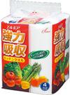 エルモア 強力吸収キッチンタオル 4R 148円(税抜)
