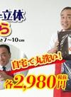エアリー立体まくら 2,980円(税抜)