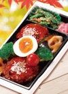 豆腐ハンバーグと野菜の甘酢あん弁当 480円(税抜)