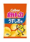 ポテトチップス うすしお 68円(税抜)