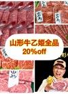山形県産山形牛乙姫全品 20%引