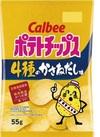 ポテトチップス4種のかさねだし味 78円(税抜)