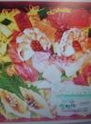 えびと生サーモン入り ちらし寿司 598円(税抜)