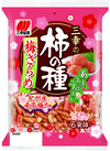・三幸の柿の種梅ざらめ・おかき餅 108円(税抜)