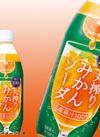 国産果汁100%丸搾りみかんソーダ 188円(税抜)