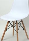●木脚デザインチェア ホワイト VDCー623WH 3,058円(税込)