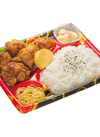 米麹と塩麴仕立ての旨い塩唐揚弁当 378円(税込)