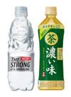 天然水スパークリング THE STRONG/緑茶 伊右衛門 濃い茶 69円(税込)