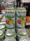 贅沢搾りPLUS  3種の柑橘クエン酸 114円(税込)