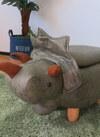 ●動物スツール収納付 恐竜 6,578円(税込)