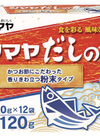 だしの素粉末 139円(税込)