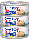 シーチキンLフレーク(レギュラー・オイル不使用) 322円(税込)