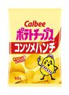 ポテトチップス コンソメパンチ 74円(税込)